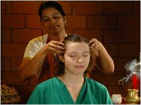 traditional head massage