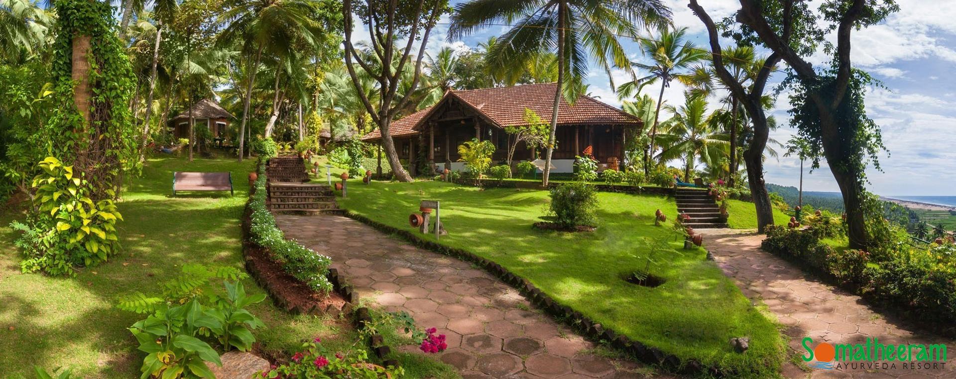 Ayurveda Village with an Ayurveda Resort ambiance - Somatheeram