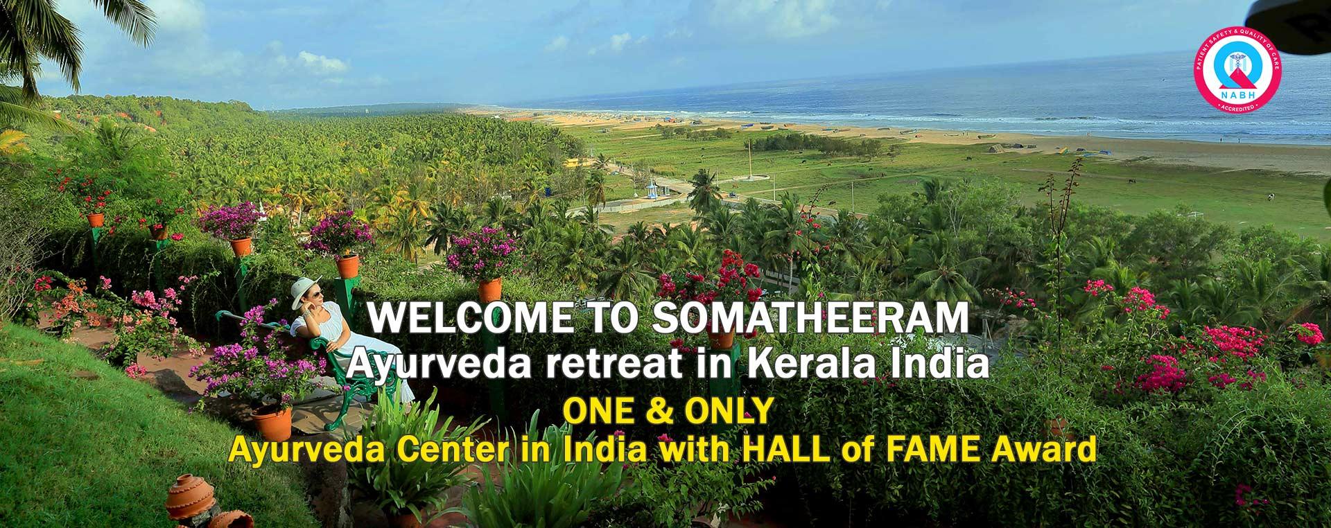 WELCOME TO SOMATHEERAM  Ayurveda retreat in Kerala India